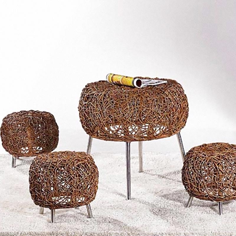 创意藤椅桌椅